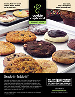 Download Cookie Cupboard's Food Service Menu