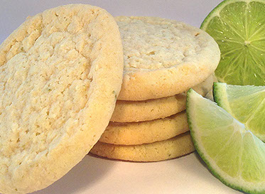 Lime Coconut Cookie